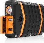 Fuj:tech IP20K 20100 mAh varavirtalähde, musta/oranssi