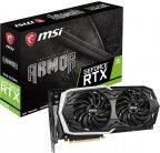 MSI GeForce RTX 2070 ARMOR 8G -näytönohjain PCI-e-väylään