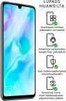 Huawei P30 Lite -Android-puhelin 128/4 Gt, Dual-SIM, helmenvalkoinen
