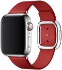 Apple Watch 40 mm punainen (PRODUCT)RED moderni nahkaranneke, suuri, MTQV2