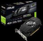 Asus GeForce GTX 1050Ti PH-GTX1050TI-4G 4096 Mt -näytönohjain PCI-e-väylään