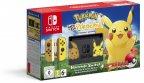 Nintendo Switch - Pokémon: Let's Go, Pikachu -pelikonsolipaketti, erikoisväri