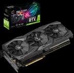 ASUS ROG-STRIX-RTX2070-O8G-GAMING 8192 Mt -näytönohjain PCI-e-väylään