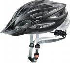 Uvex Oversize -pyöräilykypärä, musta/hopea, 61-65 cm