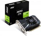 MSI GeForce GT 1030 AERO ITX 2G OC 2048 Mt -näytönohjain PCI-e-väylään