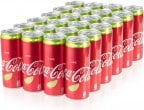 Coca-Cola Lime -virvoitusjuoma, 330 ml, 24-PACK