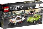 LEGO Speed Champions 75888 - Porsche 911 RSR ja 911 Turbo 3.0