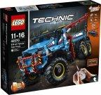 LEGO Technic 42070 - Kuusivetoinen maastohinausauto