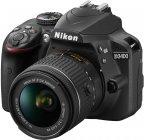 Nikon D3400 KIT -järjestelmäkamera + 18-55 mm VR -objektiivi