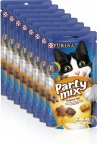 Purina Party Mix Original Mix, 8 x 60 g -kissan herkut