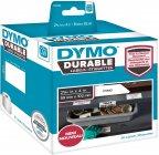 """Dymo LW -kestotarrat 2-5/16"""" x 4"""" (59 mm x 102 mm) valkoinen polyesteri, 50 tarraa"""