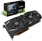 Asus DUAL-RTX2080TI-A11G GeForce RTX 2080 Ti 11264 Mt -näytönohjain PCI-e-väylään
