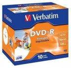 Verbatim DVD-R 16X media 4.7GB, 10 kpl
