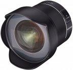 Samyang AF 14 mm f/2,8 F -laajakulmaobjektiivi, Nikon