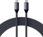 Satechi USB-C - USB-C 100W -kaapeli, 2 m