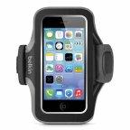 Belkin Slim-fit Plus käsihihna Apple iPhone 5/5s:lle, musta