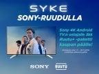 Ruutu+ 3kk Sony 4K Android TV:n ostajalle
