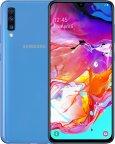 Samsung Galaxy A70 -Android-puhelin 128 Gt Dual-SIM, sininen