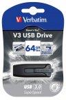 Verbatim SuperSpeed V3 64 GB USB-muisti, musta