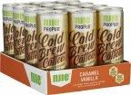 NJIE ProPud Cold Brew Coffee Caramel Vanilla -kahvijuoma, 250 ml, 12-PACK