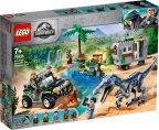 LEGO Jurassic World 75935 - Baryonyx-yhteenotto: aarteenmetsästys