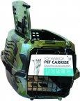 M-PETS WARRIOR, vihreä camoprintti -kaksiovinen kuljetuslaatikko