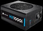 Corsair HX1000i, 80 PLUS Platinum - ATX-virtalähde, 1000 W