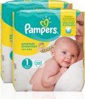 Pampers New Baby -teippivaippa, koko 1, 2x22 kpl