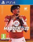 Madden NFL 20 -peli, PS4