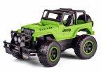 Carson Jeep Wrangler -kauko-ohjattava maasturi, vihreä, 1:12, RTR