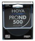 Hoya 62 mm PROND500 -harmaasuodin