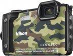 Nikon COOLPIX W300 -digikamera, maastoväri