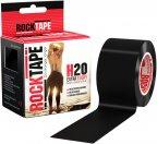 Rocktape Standard H2O -kinesioteippi, musta
