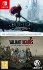 Child of Light - Ultimate Edition / Valiant Hearts: The Great War -pelikokoelma, Switch