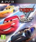 Disney/Pixar Cars 3 - Driven to Win -peli, PS3