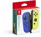 Nintendo Joy-Con Pair -peliohjainpari, sininen ja neonkeltainen, Switch