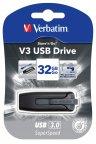 Verbatim Store'n'Go V3 32 GB USB 3.0 muistitikku, musta
