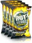 Hot-Headz Jalapeno Cheddar -perunalastut, 4 x 142 g