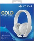 Sony Playstation Gold Wireless Headset -pelikuulokkeet, valkoinen, PS4 / PS VR