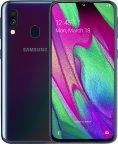 Samsung Galaxy A40 -Android-puhelin Dual-SIM 64 Gt, musta