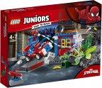 LEGO Juniors 10754 - Spider-Man vastaan Scorpion -katutaistelu