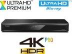 Panasonic DMR-UBC86 Ultra HD Blu-ray -soitin ja 1 T HD-digiboksi