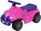 Plasto- offroad prinsessa-auto, potkuauto