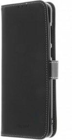 Insmat Exclusive Flip Case lompakkokotelo Motorola Moto G9 Play, musta