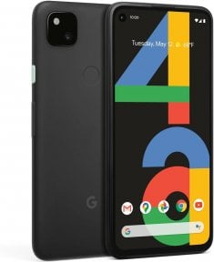 Google Pixel 4a -Android-puhelin, 128 Gt, musta