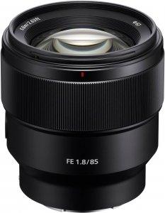 Sony FE 85 mm F1.8 -objektiivi