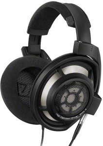 Sennheiser HD 800 S -kuulokkeet, musta