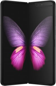 Samsung Galaxy Fold -Android-puhelin, 512 Gt, Cosmos Black