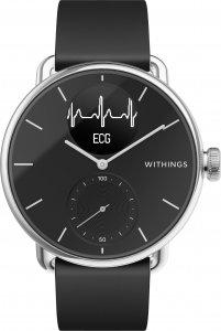 Withings Scanwatch EKG , aktiivisuuskello musta 38mm