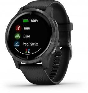 Garmin VENU -GPS-älykello, tummanharmaa